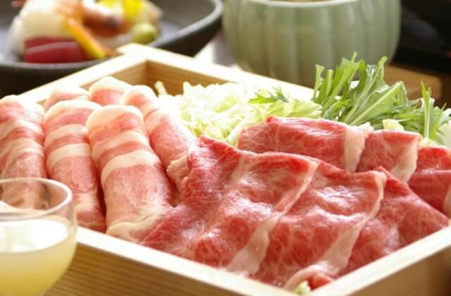 山形牛&米澤豚をしゃぶしゃぶで味比べ