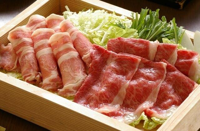 ≪山形ブランド牛≫人気和風食事処『蔵膳』でご夕食!メインは 『山形牛』と『米澤豚』しゃぶしゃぶ♪