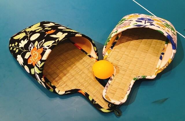 スリッパ卓球ラケット