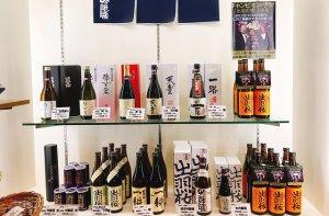 地酒を中心に揃えた日本酒