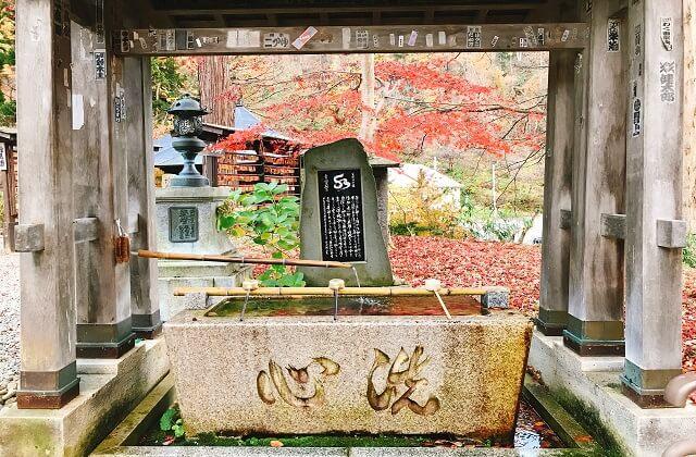 秋深まる若松寺へ