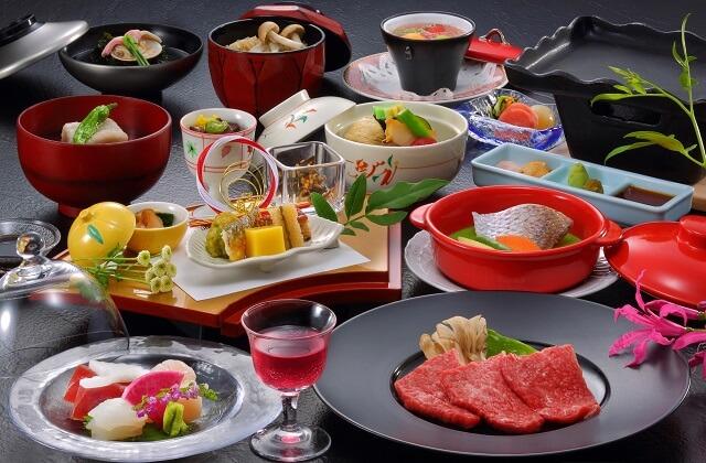 【山形牛の陶板焼き】オーソドックスな会席料理がお好みの方へ♪